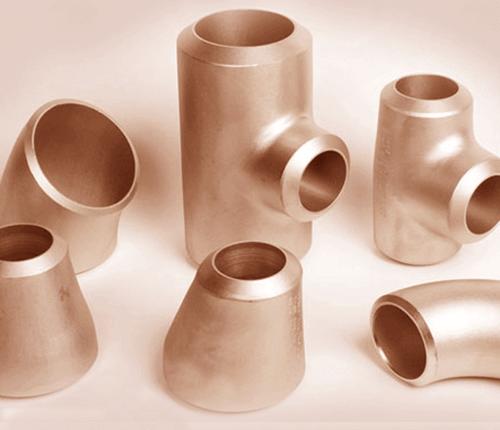 Cobre-níquel 70-30 Astm B446 Uns C71500 Tubo de soldadura a tope y accesorios de tubería